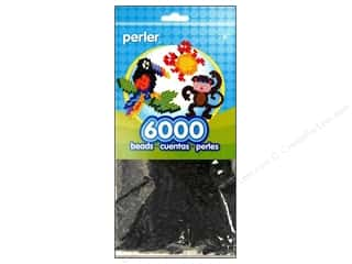 beading & jewelry making supplies: Perler Beads 6000 pc. Black