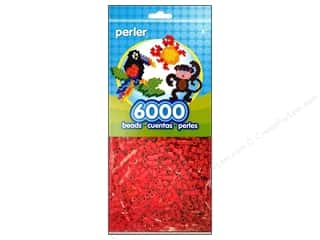 Perler Beads 6000 pc. Red