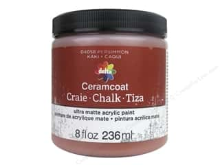 craft & hobbies: Delta Ceramcoat Chalk Paint 8 oz. Persimmon