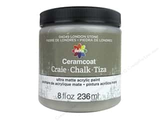 Delta Ceramcoat Chalk Paint 8 oz. London Stone