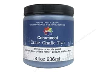 Delta Ceramcoat Chalk Paint 8 oz. Dusty Denim