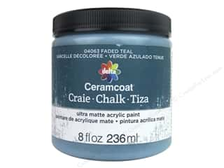 Delta Ceramcoat Chalk Paint 8 oz. Faded Teal