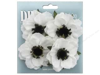 Petaloo DIY Paintables Anemone Canvas White