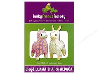 Funky Friends Factory Lloyd Llama & Alice Alpaca Pattern