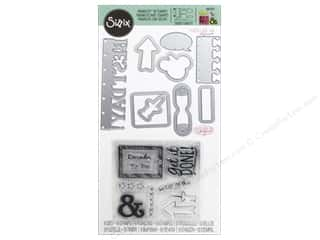 die cutting machines: Sizzix Die & Stamp Katelyn Lizardi Framelits Get It Done