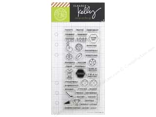 stamps: Hero Arts Poly Clear Stamp Clearly Kelly Sports Planner