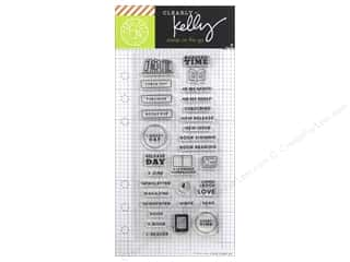 Hero Arts Poly Clear Stamp Clearly Kelly Reading Planner