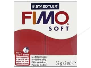 Fimo Soft Clay 2 oz. Indian Red