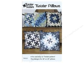 Twister Sisters Twister Pillows Pattern