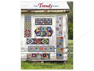 books & patterns: The Trendy Table: 15 Runners Featuring Your Favorite Precuts Book by Heather Peterson