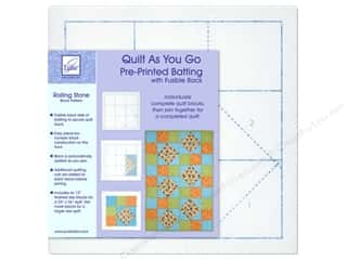 June Tailor Batting Quilt As You Go Poly Rolling Stone