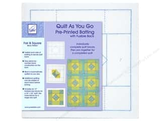 June Tailor Kit Quilt As You Go Polyester Fair & Square