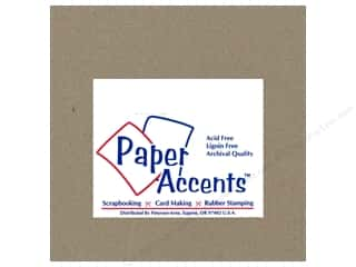 scrapbooking & paper crafts: Paper Accents Chipboard 6 x 6 in. 42 pt. XL Heavy Natural 25 pc.
