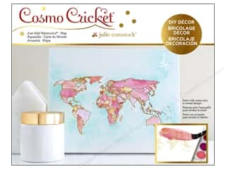 Cosmo Cricket Just Add Watercolor Block Map