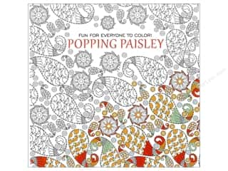 books & patterns: Leisure Arts Popping Paisley Coloring Book
