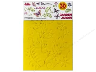 craft & hobbies: Delta Stencil Mania Value Pack Garden 3 pc.