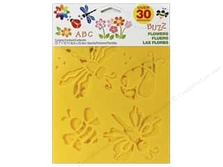craft & hobbies: Delta Stencil Mania Value Pack Flowers 3 pc.