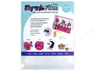 Shrink Film: Grafix Shrink Film 8 1/2 x 11 in. Clear 6 pc.
