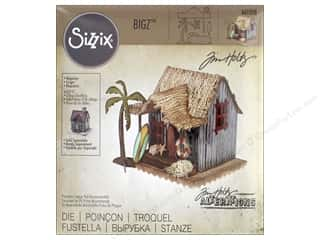 window die: Sizzix Dies Tim Holtz Bigz Village Surf Shack