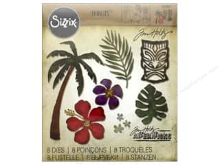 dies: Sizzix Thinlits Die Set 8 pc. Tropical