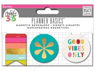 Me & My Big Ideas Create 365 Happy Planner Magnetic Page Clips 3 pc. Bright