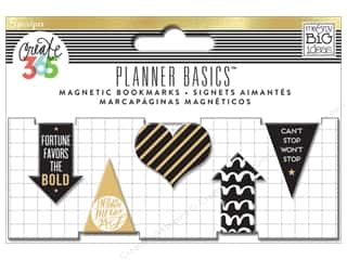 Me & My Big Ideas Create 365 Happy Planner Magnetic Page Clips 5 pc. Gold