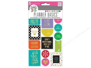 Me&My Big Ideas Collection Create 365 Happy Planner Sticker Hustle Bright