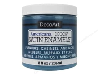 craft & hobbies: DecoArt Americana Decor Satin Enamel Paint 8 oz. True Teal