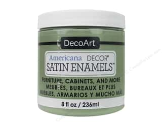 DecoArt Americana Decor Satin Enamel Paint 8 oz. Moss Green
