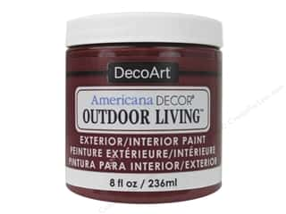 craft & hobbies: DecoArt Americana Decor Outdoor Living Exterior/Interior Paint 8 oz. Fire Pit