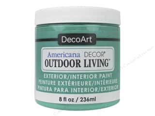 DecoArt Americana Decor Outdoor Living Exterior/Interior Paint 8 oz. Adirondack