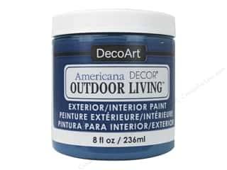craft & hobbies: DecoArt Americana Decor Outdoor Living Exterior/Interior Paint 8 oz. Fountain