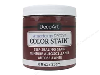 DecoArt Americana Decor Color Stain 8 oz.: DecoArt Americana Decor Color Stain 8 oz. Brick