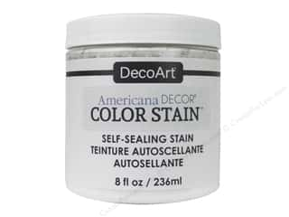 DecoArt Americana Decor Color Stain 8 oz.: DecoArt Americana Decor Color Stain 8 oz. White