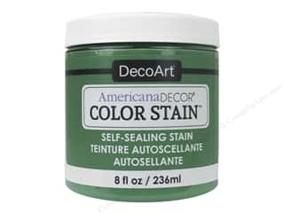 DecoArt Americana Decor Color Stain 8 oz.: DecoArt Americana Decor Color Stain 8 oz. Kelly Green