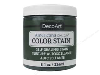 DecoArt Americana Decor Color Stain 8 oz.: DecoArt Americana Decor Color Stain 8 oz. Forest
