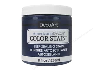 DecoArt Americana Decor Color Stain - Navy 8 oz.