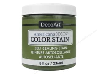 DecoArt Americana Decor Color Stain 8 oz.: DecoArt Americana Decor Color Stain 8 oz. Light Fern