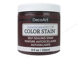 DecoArt Americana Decor Color Stain 8 oz. Deep Berry