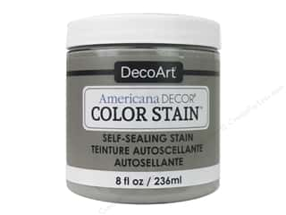 DecoArt Americana Decor Color Stain - Ash Grey 8 oz.