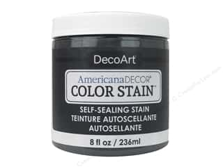 DecoArt Americana Decor Color Stain 8 oz.: DecoArt Americana Decor Color Stain 8 oz. Charcoal
