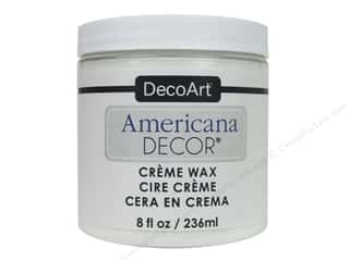 DecoArt Americana Decor Creme Wax - White 8 oz.