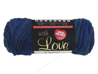 Red Heart With Love Yarn 230 yd. #1931 Cerulean