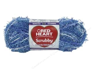 yarn & needlework: Red Heart Scrubby Yarn 78 yd. #0936 Waves