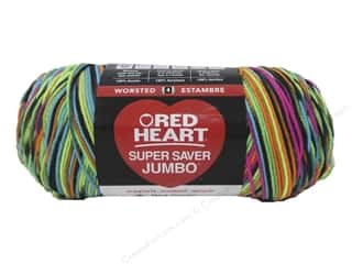 Red Heart Super Saver Jumbo Yarn #3939 Blacklight 482 yd.