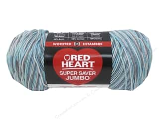 yarn & needlework: Red Heart Super Saver Jumbo Yarn 482 yd. #3952 Icelandic