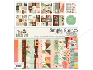 Simple Stories 12 x 12 in. Collection Kit The Reset Girl