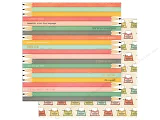 Simple Stories: Simple Stories 12 x 12 in. Paper The Reset Girl Pencil It In (25 sheets)