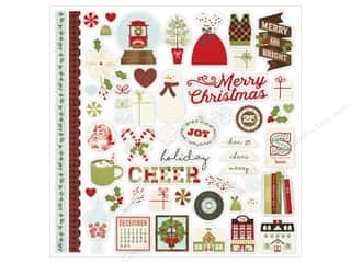 Simple Stories: Simple Stories Collection Classic Christmas Sticker Fundamentals (12 sets)