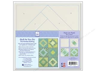 books & patterns: June Tailor Batting Quilt As You Go Cotton/Polyester Paris On Point